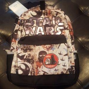 Disney Star Wars Hooded Backpack